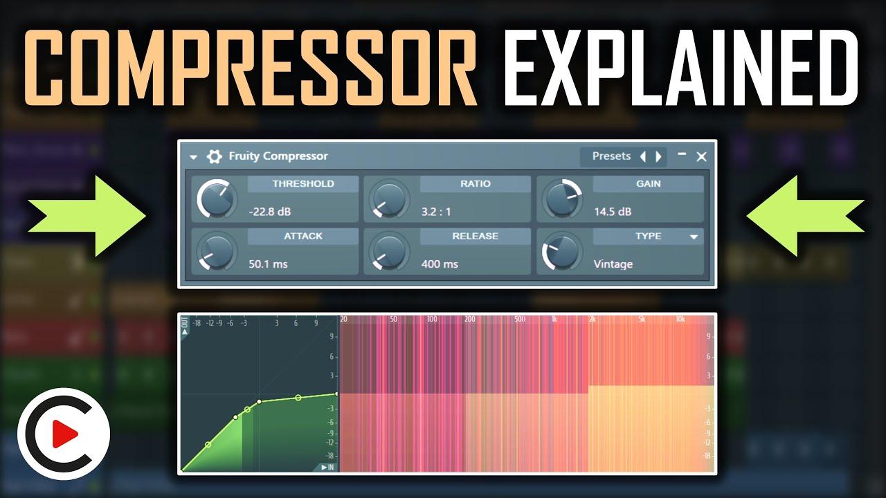 Công thức Compressor hiệu quả trong sản xuất âm nhạc (Phần 5)